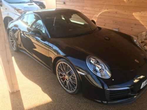 Porsche In Shed Clean